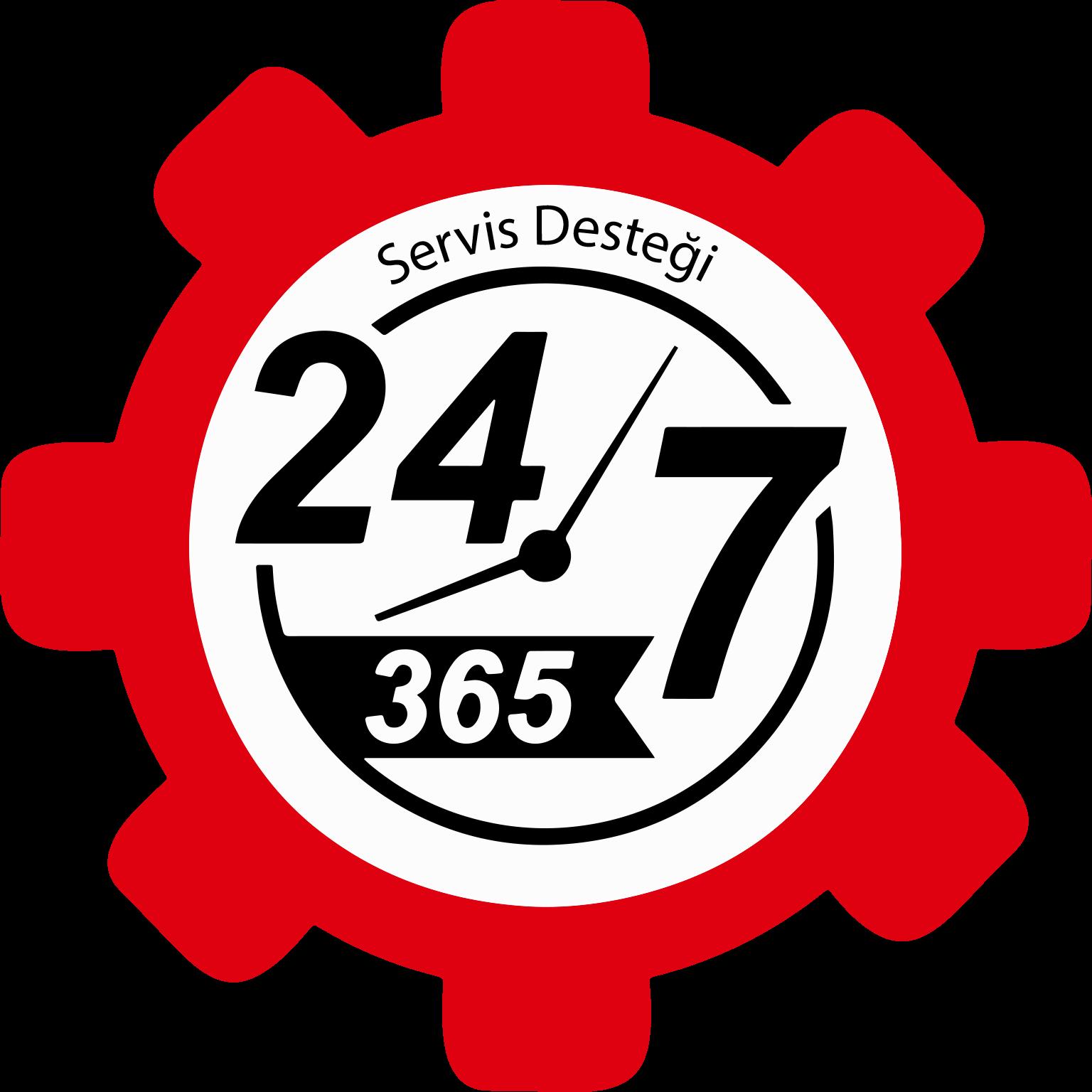 7/24 365 Gün Canlı Servis Desteği